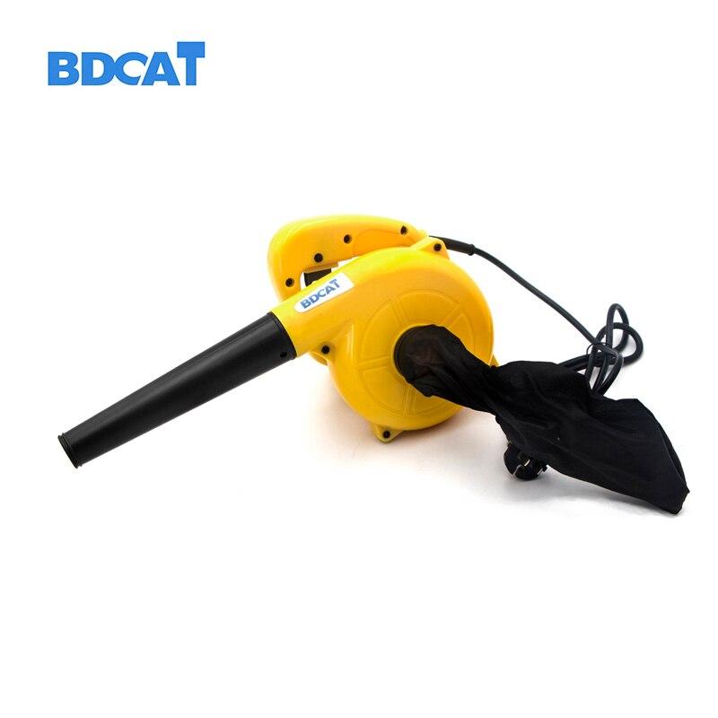 BDCAT 220 v 600 w Ventilador de Ar Soprando/2 de coleta de Poeira em 1 Cleaner Computador Deduster Sugar a Poeira Removedor spray de aspirador de pó