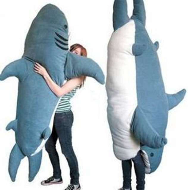 Cartoon Animal Shark Beanbag Giant Plush Soft Sharks Toy