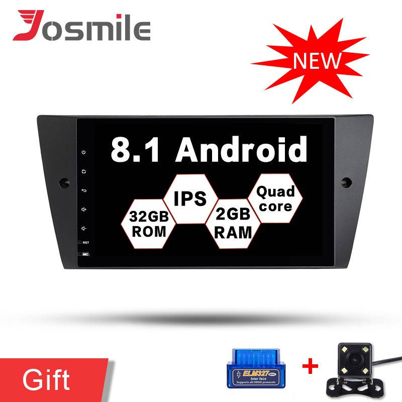 Android 8 1 System Car Radio GPS Navigation Stereo No DVD Player For BMW E90 Sedan