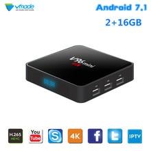 New V96 Mini Android 7.1 Smart TV Box 2GB 16GB IPTV