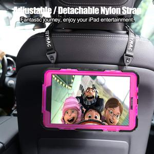 Image 3 - Case For Samsung Galaxy Tab A A6 10.1 2016 T580 T585 SM T585 SM T510 Heavy Duty Shockproof Kids Stand Case Cover Shoulder Strap