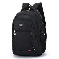 2017 New Casual Men S Nylon Waterproof College Students Bag Computer Bag Backpack Male Mochila Laptop