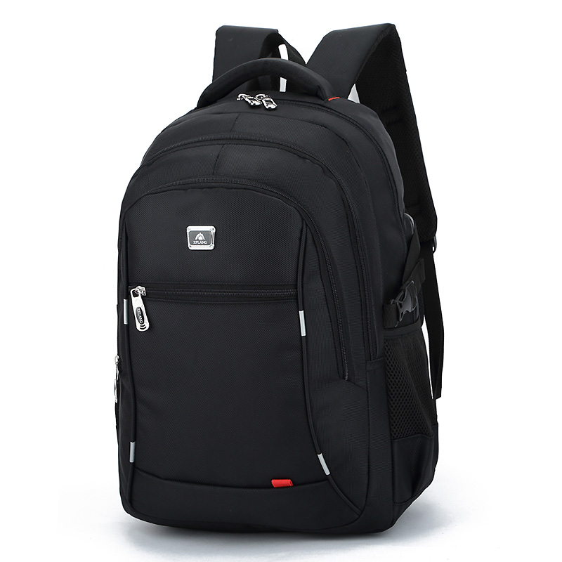 2018 New casual men 's nylon waterproof college students bag computer bag backpack Male Mochila Laptop Travel 14 to17 Inch large 14 15 inch notebook backpack men s travel backpack waterproof nylon school bags for teenagers casual shoulder male bag