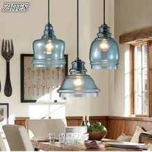 купить Modern Simple Lighting Bar Restaurant Living Room Personality Creative Glass Pendant Light по цене 3017.53 рублей