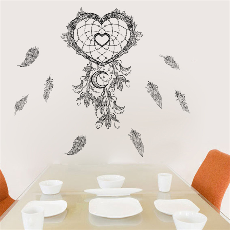 Wall Stickers Inventive Zooyoo Religious Lotus Hamsa Hand Wall Sticker Pvc Indian Buddha Home Decor Living Room Bedroom Wall Decals Decoration