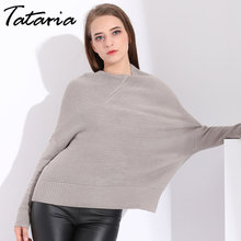 39a52026ef Woman Winter Oversized Sweater 2018 Autumn Women Pullover Sweater Big Size  Womens knitted jumpers Sweaters Ladies
