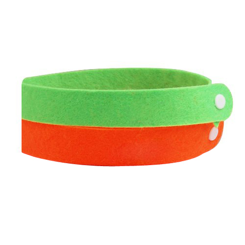 2x Mosquito repellent Wristbands Deet Free/Non Toxic and very effective