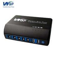 High capacity 31200mAh power bank DC 12V USB 5V multi outlets battery power station for mobile router and led light