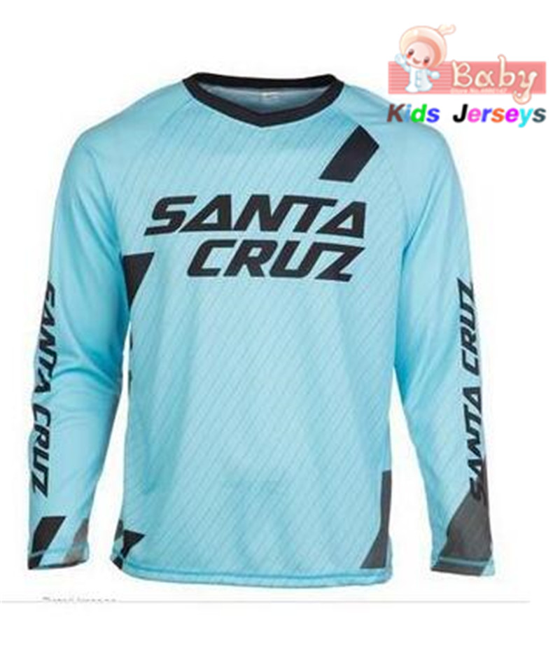 Downhill Jersey Offroad Mtb t-Shirt Mountain-Bike Mtb-Enduro Motocross Kids DH Larga