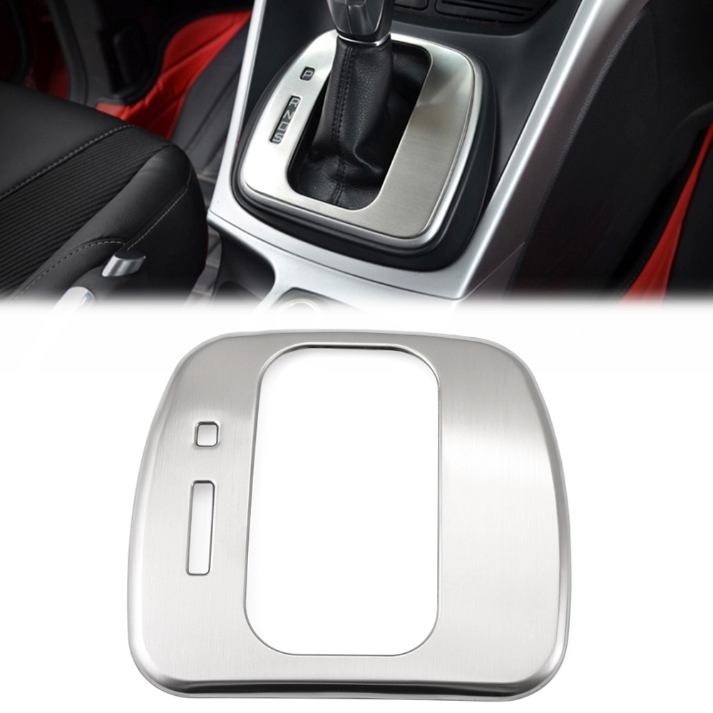 2c32a0c11d Car Interior Parts Gears Shift Panel Trim Covers Fit For Ford Escape Kuga  2013 2014 2015