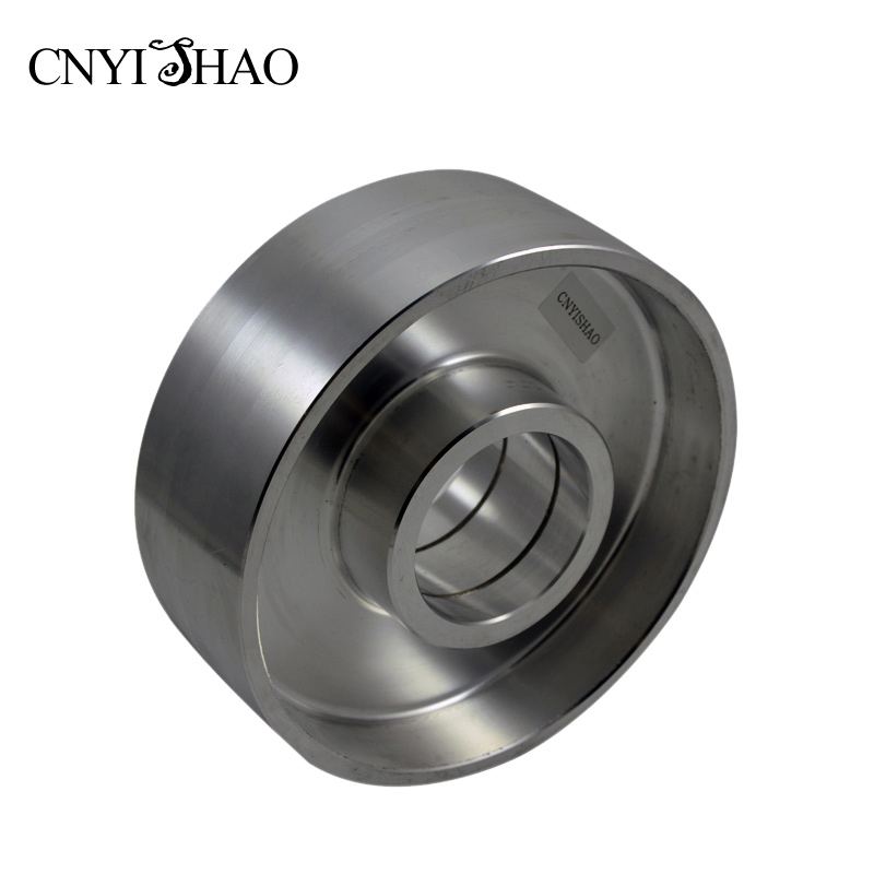 CNYISHAO Aluminum Contact Wheel 178*62*62mm Polishing Drive Wheel Belt Sander Sets for Knife and Wooden Grinding 1pc white or green polishing paste wax polishing compounds for high lustre finishing on steels hard metals durale quality