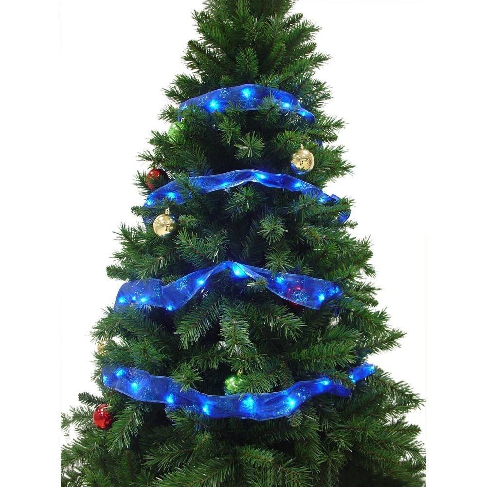LED Ribbon Light Christmas Tree Holiday Fairy Garland String Lights For Birthday Party Halloween Valentine Wedding IDecoration
