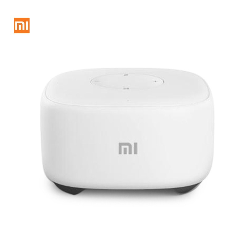 Original Xiaomi Mi Speaker Mini 2.4G Wifi Voice Smart Speaker Wireless Portable Speaker Bluetooth 4.1 With 4 Mic of Smart home original xiaomi mi speaker mini 2 4g wifi voice smart speaker wireless portable speaker bluetooth 4 1 with 4 mic of smart home