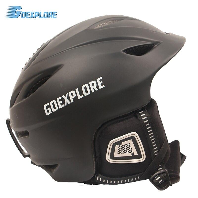 Goexplore ore лыжный шлем для взрослых интегрированный ультра легкий женский CE EN-1077 Снежный шлем для спорта на открытом воздухе Скейтборд Сноубор...
