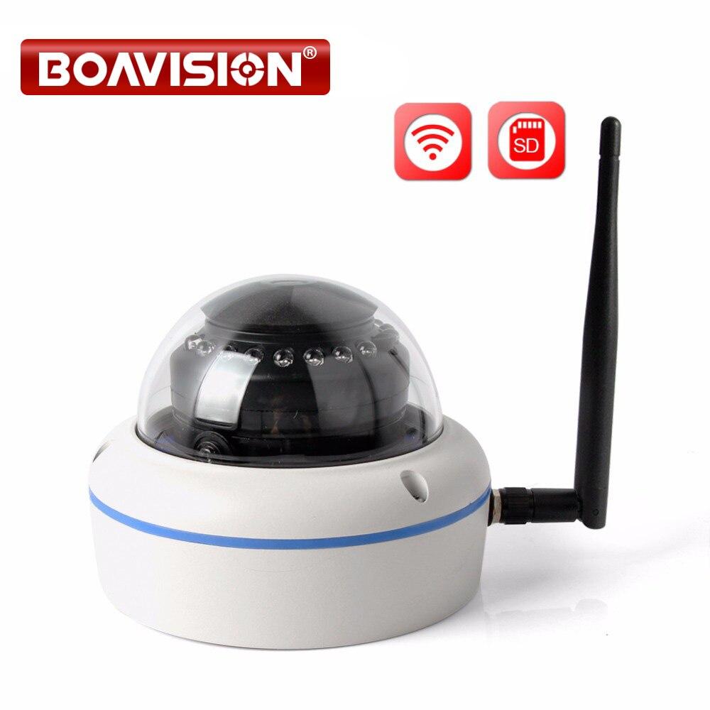 HD 720 p 960 p 1080 p Drahtlose WIFI Kamera Outdoor Nacht IR 10 mt Dome Vandalproof Sicherheit Kameras Wi-fi onvif TF Karte APP CamHi