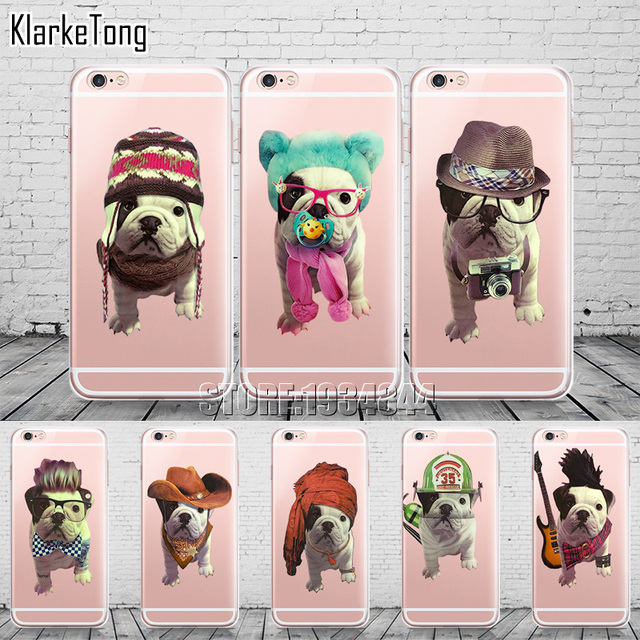 iphone 6 coque bouledogue