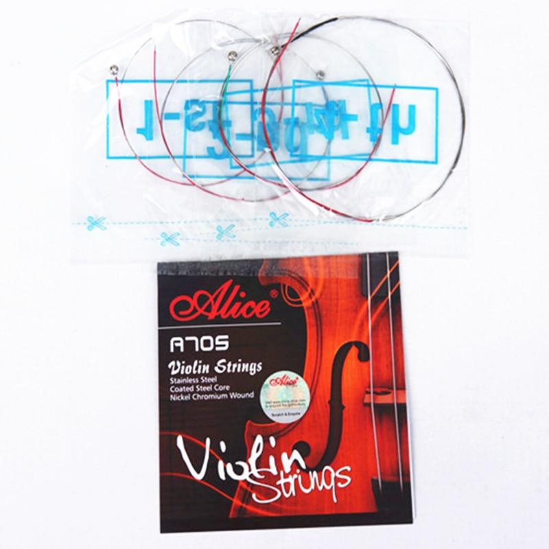 Cuerda de violín Cuerdas para violín 4 / 4-1 / 8 Violino de Alice - Instrumentos musicales - foto 3