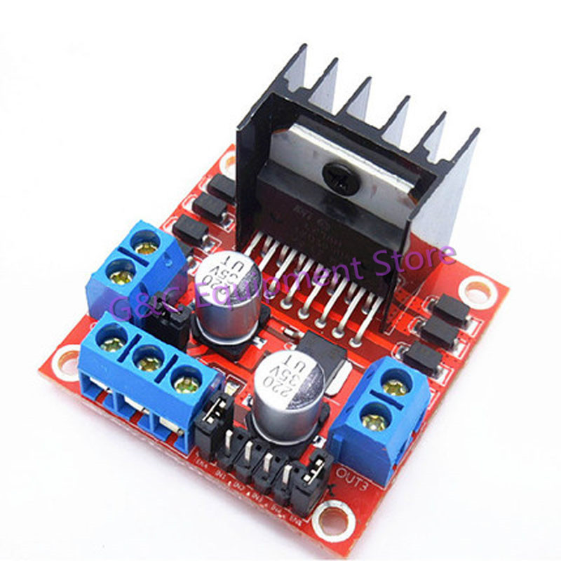 10PCS New Control Board For Arduino L298N DC Stepper Motor Driver Controller Board Module