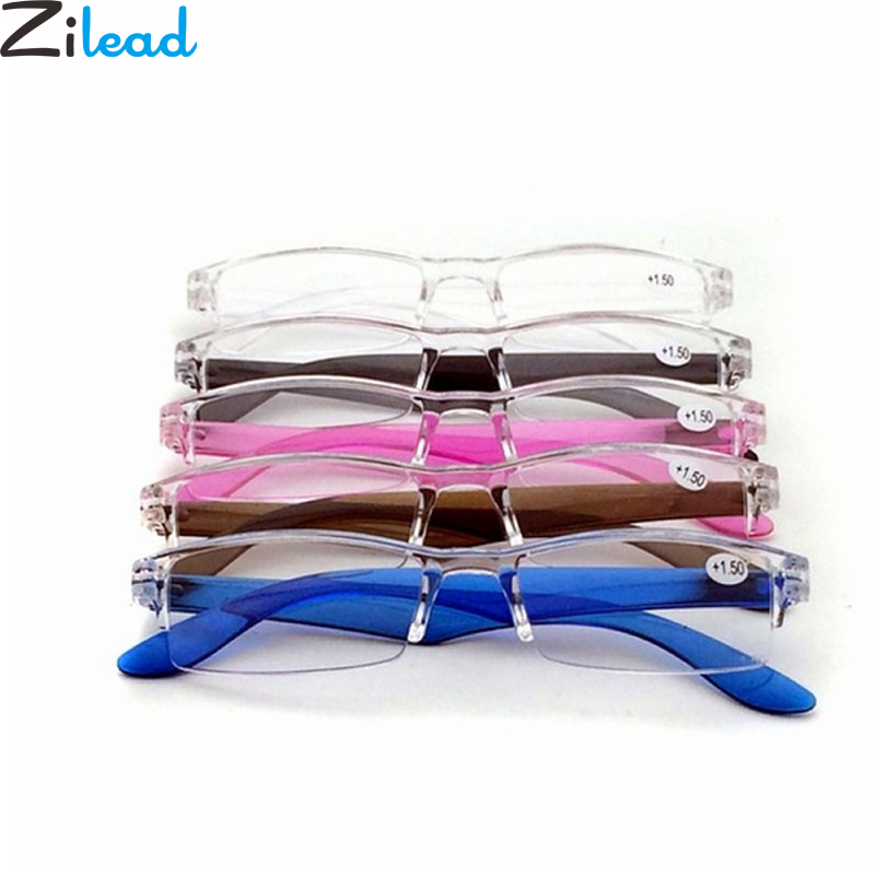 Zilead Reading Glasses Vintage Portable Presbyopic Glasses Magnifier Vision Eyewear Prescription Lens Glasses For Panrents