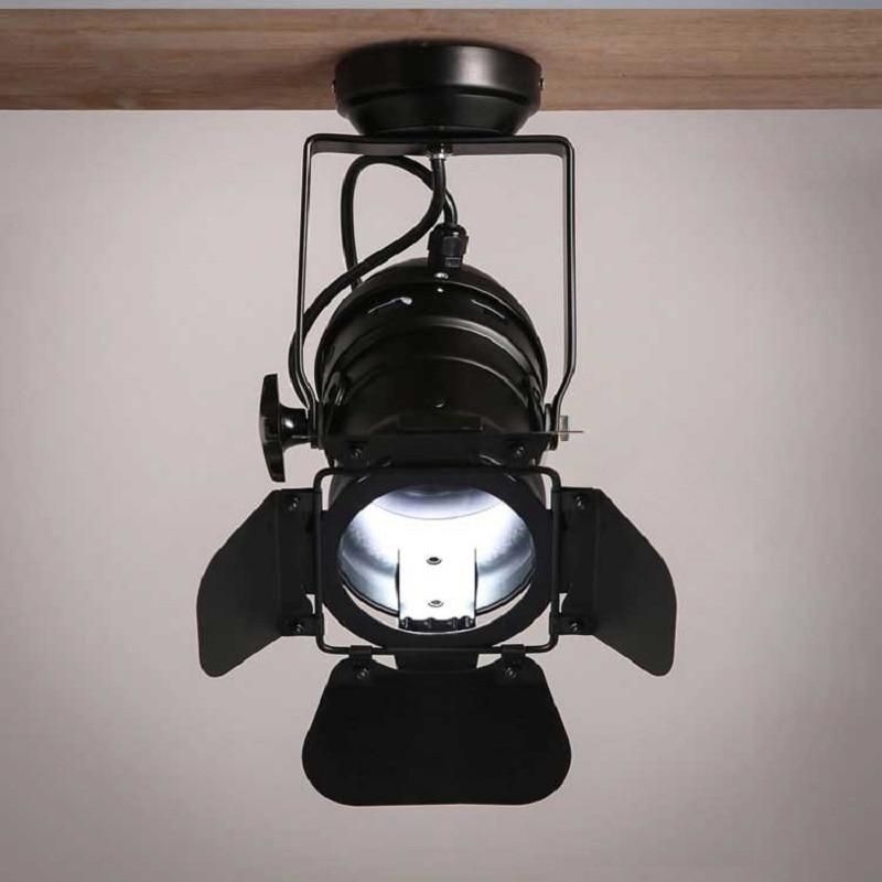 Simple Retro LED Spotlight Industrial Loft Lamp Clothing Store Tracking Light Bright Light Energy Saving 220V 3WSimple Retro LED Spotlight Industrial Loft Lamp Clothing Store Tracking Light Bright Light Energy Saving 220V 3W