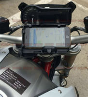 Mobile Phone Navigation Bracket USB Phone Charging For BMW R1200R R1200RS 15 17
