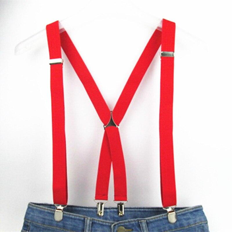 120cm panjang warna pepejal dewasa lelaki suspender 2.5 cm tali - Aksesori pakaian - Foto 6