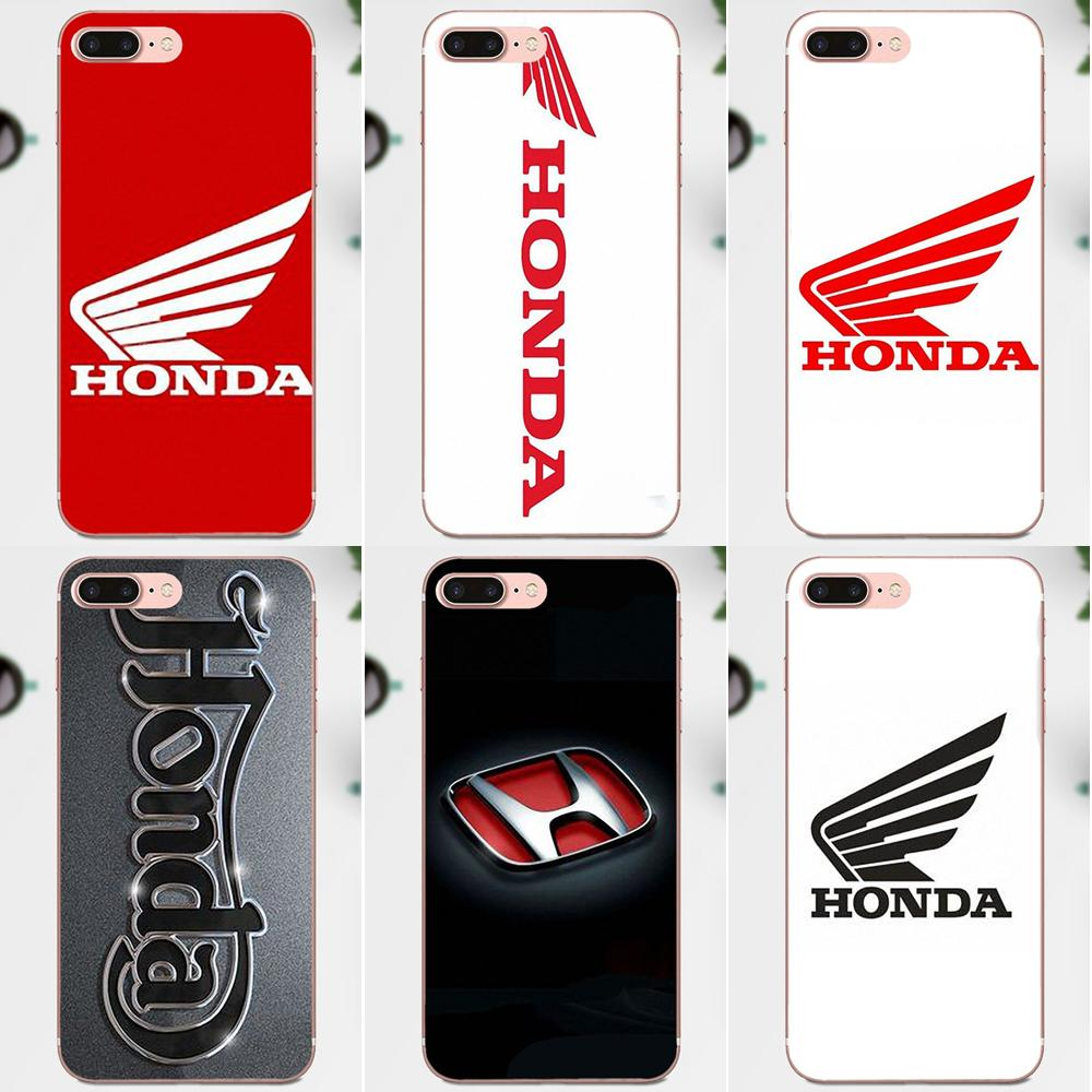 Car Honda Wings Fly Soft TPU Cell Phone Cover Case For Xiaomi Redmi Note 2 3 3S 4 4A 4X 5 5A 6 6A Pro Plus