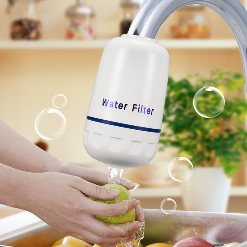 ФОТО JOOE ceramic water filter for Kitchen Faucet  ustensiles de cuisine accessoires water purifier filtro rubinetto