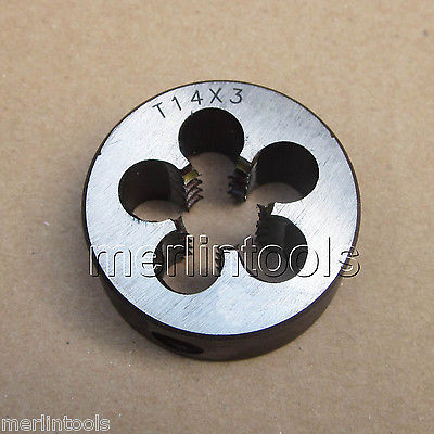 Trapezoidal Metric Right hand Die TR 14 x 3mm Pitch 52mm x 2 metric right hand thread die m52 x 2 0mm pitch