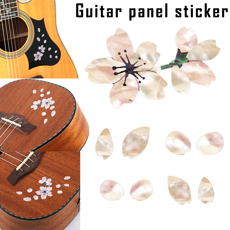 Sports & Entertainment Guitar Parts & Accessories Guitar Fingerboard Panel Sticker Cherry Blossom Decals Decoration For Ukulele Bass Ys-buy