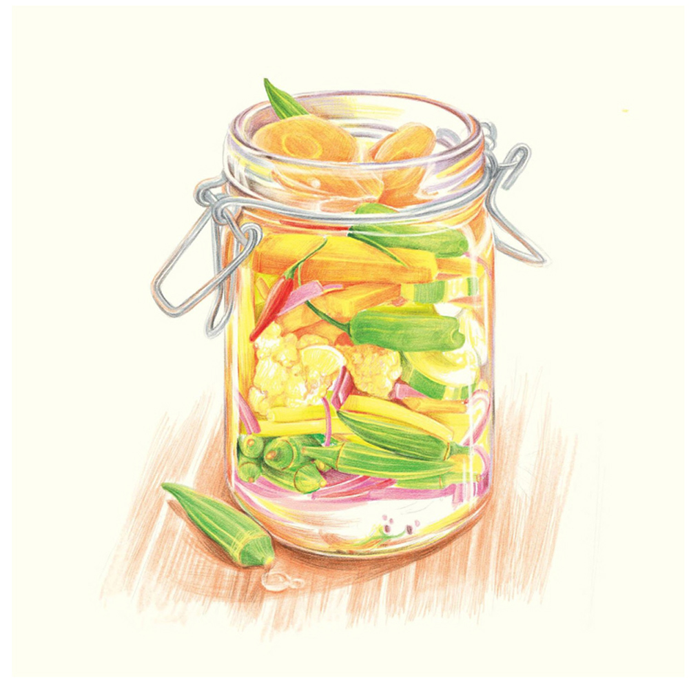 Cina Lukisan Buku buku makanan lezat dicat untuk Orang Dewasa - Buku-buku - Foto 3