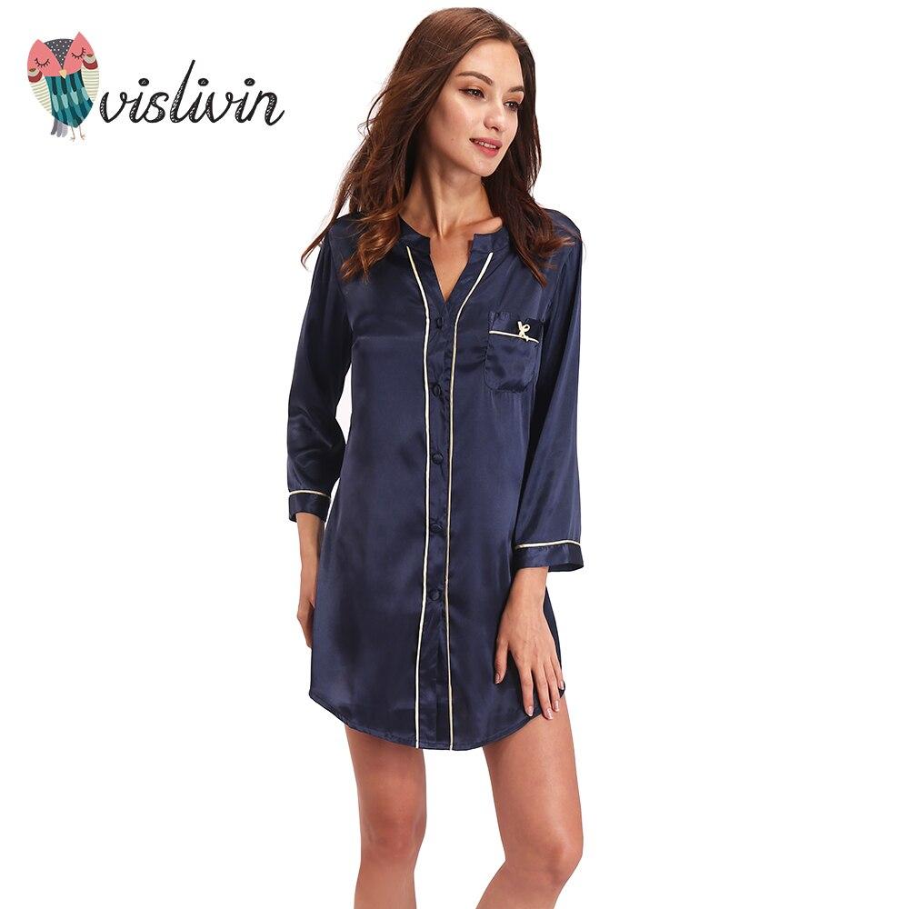 Vislivin Silk Dressing Gown Bath Robe High Grade Quality