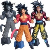 3 Colors Goku Super Saiyan 4 Dragon Ball GT Figures Toys Kids PVC DB Action Figures Collection Model 33cm Retail Box