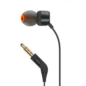 Image 4 - JBL T110 3.5mm 유선 이어폰 스테레오 음악 딥베이스 이어 버드 헤드셋 스포츠 이어폰 인라인 컨트롤 핸즈프리 마이크 포함