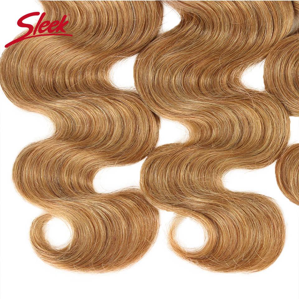 Гладкий микс 27/30 волнистые пучки бразильских локонов для наращивания волос 100% Remy человеческие волосы для наращивания 3/4 пучков от 10 до 26 дюймов