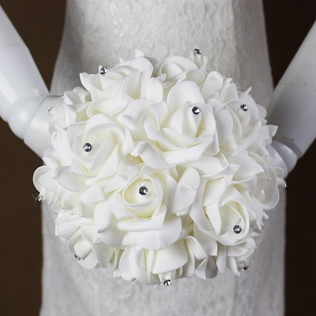 Preferenza Bouquet da sposa Nastro di Raso Fiori Del Nastro Del Raso Fiori  GA55