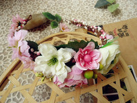 Free Shipping Gift Handmade Aesthetic Bride Hair Accessory Hair Bands Garishness Fairy