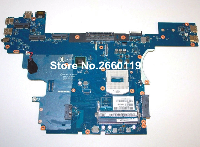 laptop motherboard for DELL E6540 LA-9412P system mainboard, fully tested ...