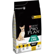 Набор сухого корма Pro Plan для склонных к избыточному весу и/или стерилизованных взрослых собак мелких и карликовых пород с комплексом OPTIWEIGHT, с курицей и рисом, Пакет, 4 уп. по 3 кг