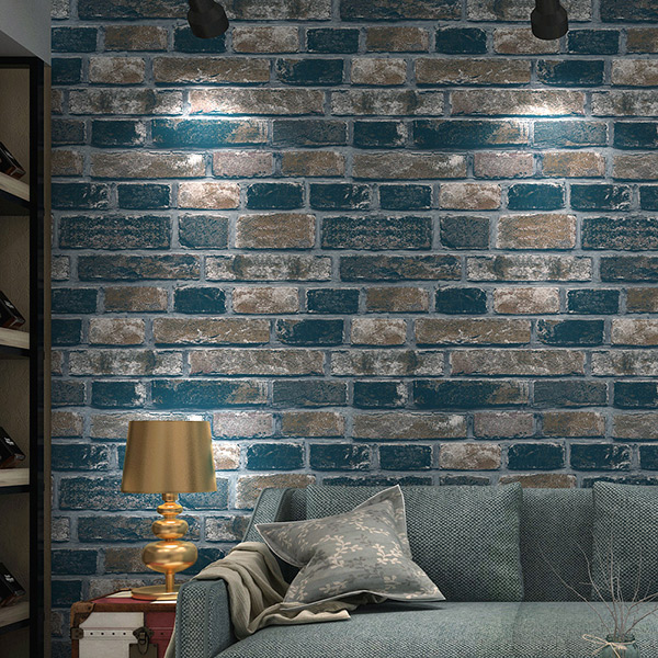 online-shop mauer papier wohnzimmer schlafzimmer vintage 3d effekt, Wohnzimmer