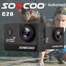 SOOCOO C20 Action Camera 12MP Mini Sport HD DV Waterproof WIFI 170 Wide Angle bike video sports camera