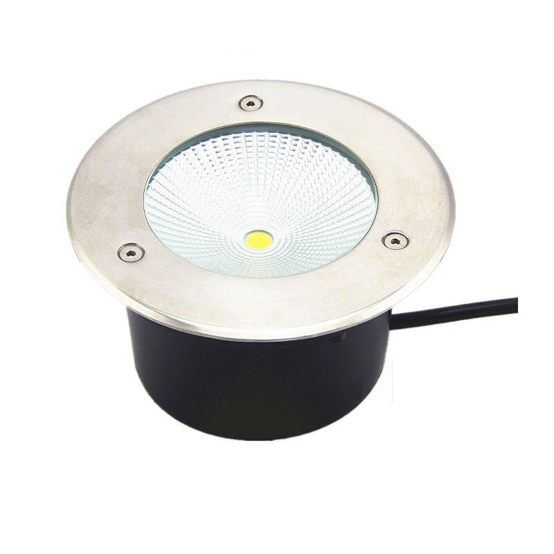 Led Lamps Led Underground Lamps Smart 8pcs/lot 12w Cob Led Underground Light Spot Lamp Ip67 Waterproof Lamp Outdoor Under Ground Garden Light Ac85-265v