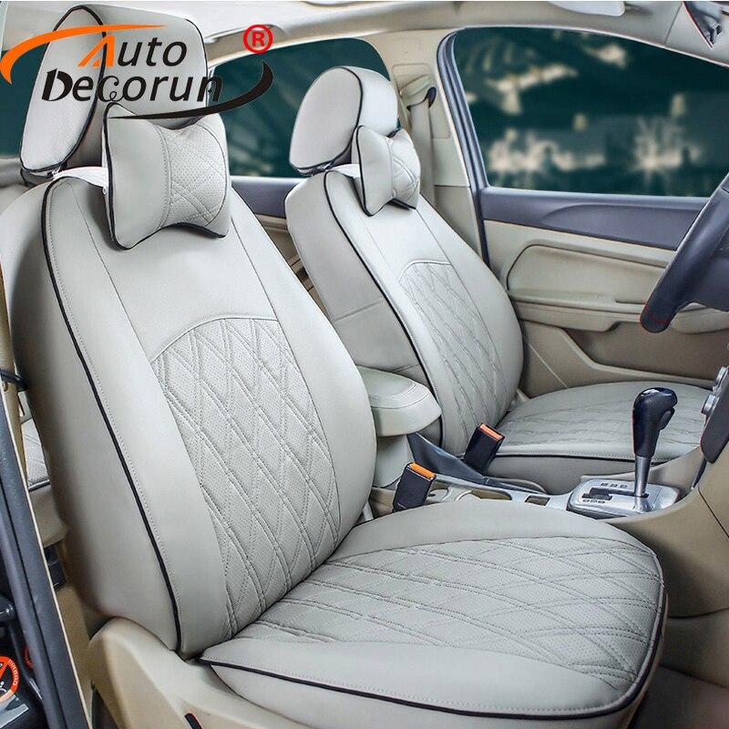 AutoDecorun PU cuir couvre voiture pour Ford mondeo 3 4 voiture housse de siège coussin personnalisé fit housse sièges set 100% couverture avant et arrière