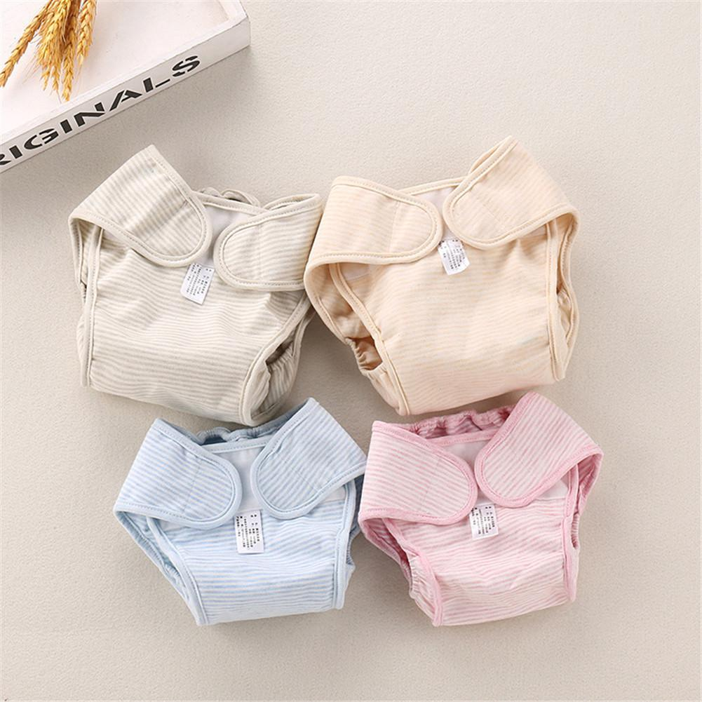 Kidlove Baby Color Cotton Natural Breathable Diaper Pants Cloth Diaper Washable Leak-proof Diapers