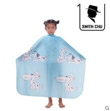 1pc Pink Blue Professional Salon Child Waterproof Wraps Hair Cutting Gown Hairdressing Cloth Barbers Hairdresser Cape Gown Wrap