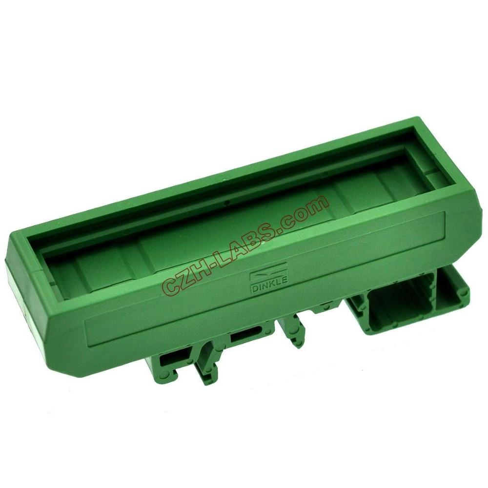 Electronics-Salon DIN Rail Mounting Carrier, For 72mm X 20mm PCB, Housing, Bracket.