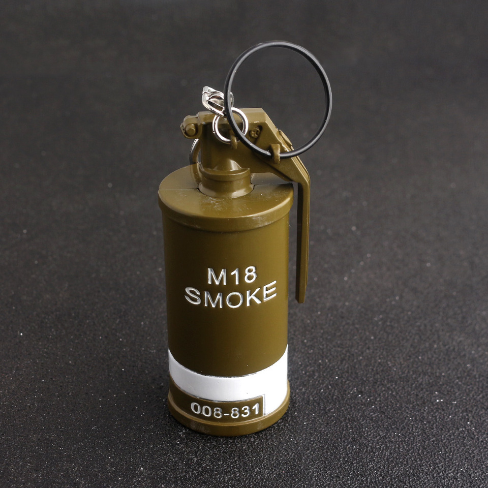 Game Pubg Stun Grenades M18 Smoke Keychain Playerunknown S Battlegrounds Weapon Pendant Keychain Souvenir For Pubg Game Lover Key Chains Aliexpress