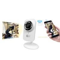 Mini WIFI Wireless IP Camera Home Surveillance Security Camera Baby Monitor Two way Audio Night Vision