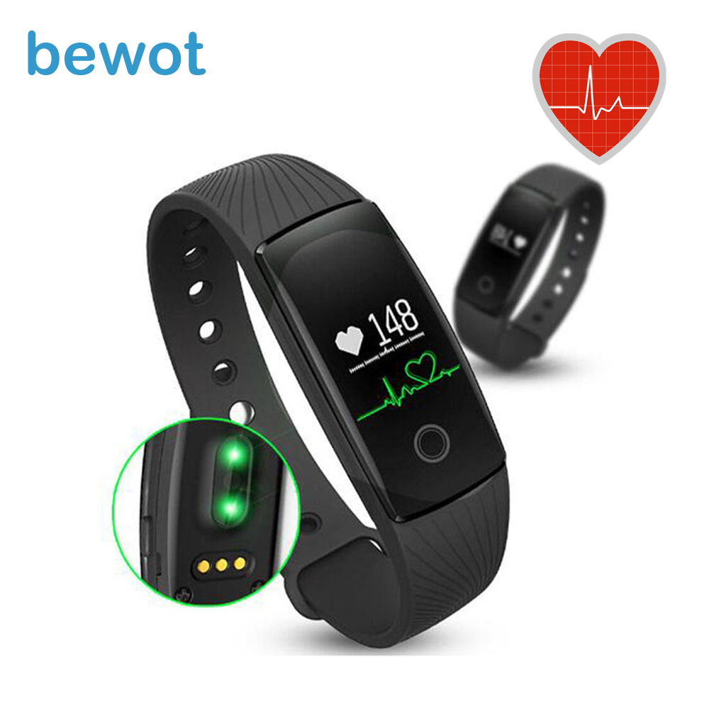 2016 NEW Smart Band Wristwatch Outdoor Bluetooth Bracelet Fitness Tracker Heart Rate Monitor Android Vs Mi