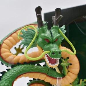 Image 4 - 15 cm Anime yeşil ejderha ShenRon ShenLong PVC Action Figure koleksiyon Model oyuncak ücretsiz kargo